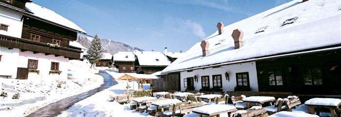Kirchleitn Dorf Grosswild zima 20/21