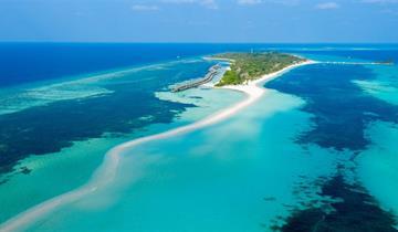 Kuredu Island Resort & Spa 4 !!!ALL INCLUSIVE ZA CENU PLNÉ PENZE!!!