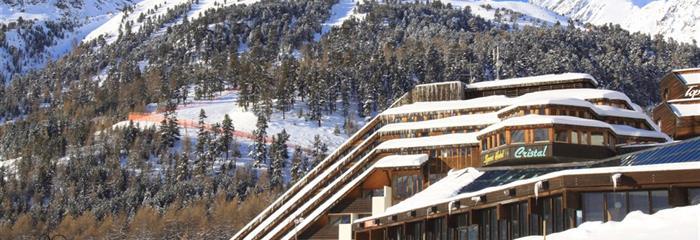 Blu Hotel Senales: Zirm-Cristal - zima 2020/21