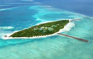 Meeru Island Resort & Spa 4+ 1. dítě do 14ti let ubytování a strava ZDARMA