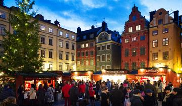 ADVENT - STOCKHOLM, Icebar, Skyview a kvalitní hotel v ceně