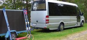 Doprava na hory, letiště apod. vozy a mikrobusy CK Periscope