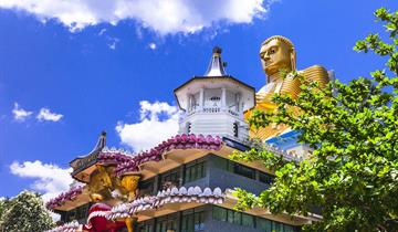 SRÍ LANKA - PERAHERA – Velkolepá buddhistická slavnost