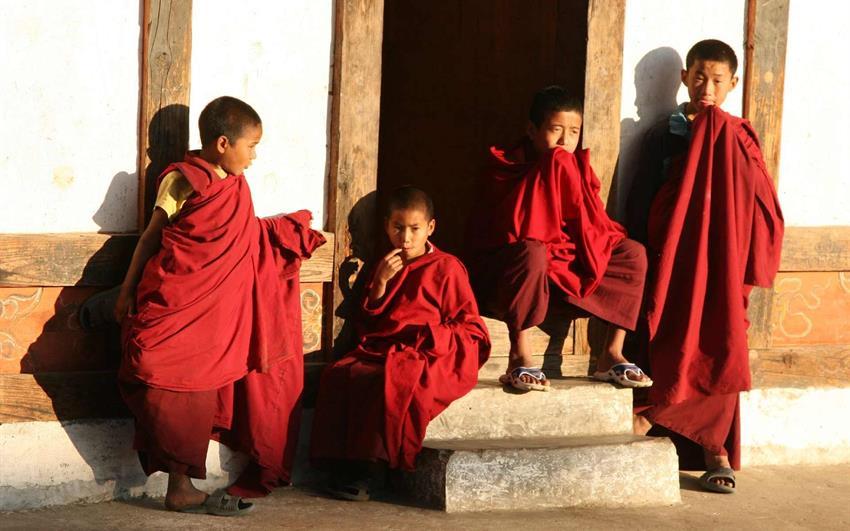 Bhútán - Jomolhari trek - Hory země draků