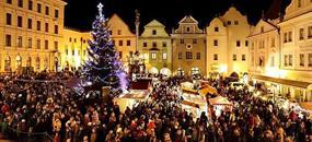 Advent v Salcburku a Českém Krumlově