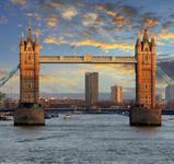 Londýn s teplým Golfským proudem