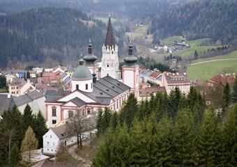 Mariazell nejen poutní místo