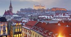 Advent - Předvánoční Bratislava s koupáním v Aquaparku Senec