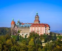 Wroclaw a květinové slavnosti na zámku Ksiaz