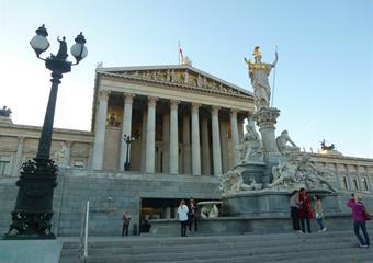 Vídeň v barvách podzimu