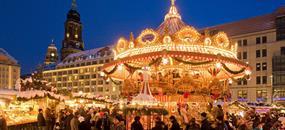 Předvánoční nákupy v Primarku Drážďany