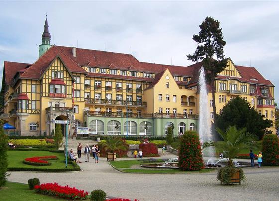 Kudowa Zdroj a Broumovský klášter