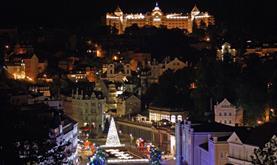 Advent v Karlových Varech a hrad Loket
