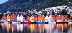 Norsko - zlatý trojúhelník ***
