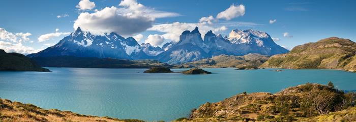 Patagonie, Argentina, Brazílie