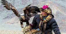 Mongolsko - Orlí lovci