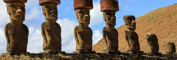 Chile, Peru, Bolívie a Velikonoční ostrov