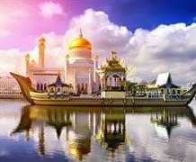 Borneo, Filipíny, Brunej