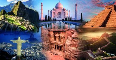 Cesta kolem světa privátním letadlem - sedm novodobých divů světa