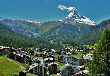 Švýcarsko a nejkrásnější Alpy