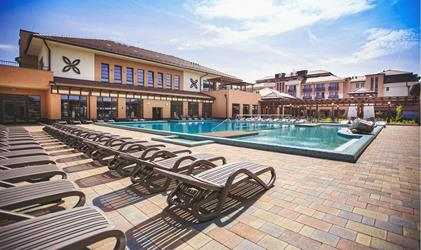 Caramell Premium Resort - Ubytování s polopenzí