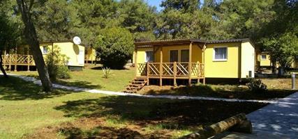 Mobilní domky PINETA - Ubytování