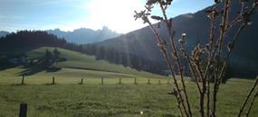 Po rovině napříč Alpami ze St. Martina