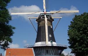 Holandsko na lodi a na kole - STŘED a SEVER