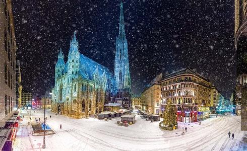 Advent ve Vídni