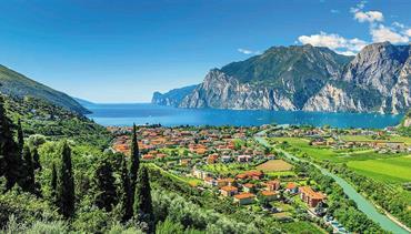 Nejkrásnější jezero Itálie Lago di Garda, Sirmione a Shakespearova Verona