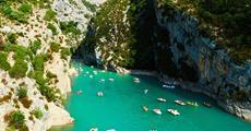 Azurové pobřeží, jižní Provence a kaňon Verdon