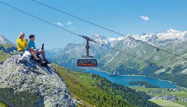 Švýcarsko, Engadin a údolí Val Venosta