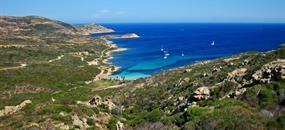 Korsika křížem krážem na kole
