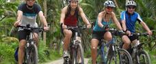Vánoce a silvestr na kole na Filipínách