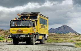 Island – Tatrabusem i pěšky napříč divočinou