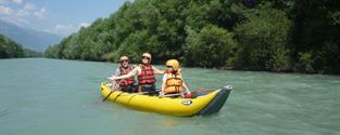 Letní řeky Alp