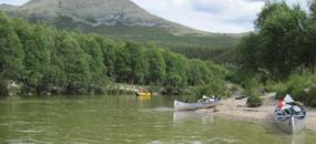 Letní řeky Skandinávie