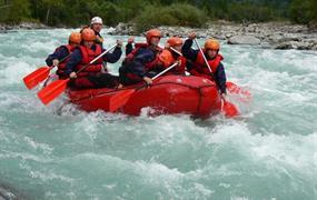 Víkendový rafting v Rakousku