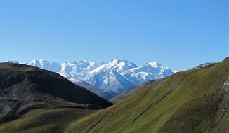 Piz Bernina – nejvýchodnější čtyřtisícovka