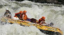 Rafting na Zambezi