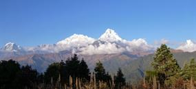 Krásy Nepálu a panorama Himálaje