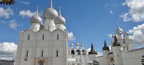 Zlatý okruh mezi Moskvou a Volhou