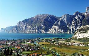 Lago di Garda na kole v pohodě