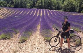 Provence křížem krážem na kole