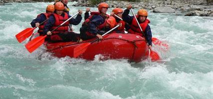 Rafting na Öetzu a Innu