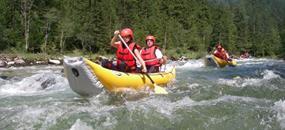 Salza na kanoích
