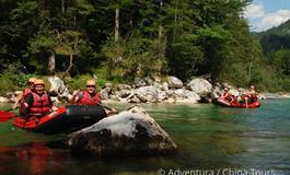 Rafting na Salze a Enns