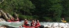 Rafting na Salze a Steyru