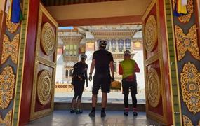 Bhútán na kole v pohodě
