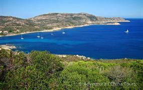 Korsika na kole v pohodě